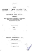 The Bombay Law Reporter