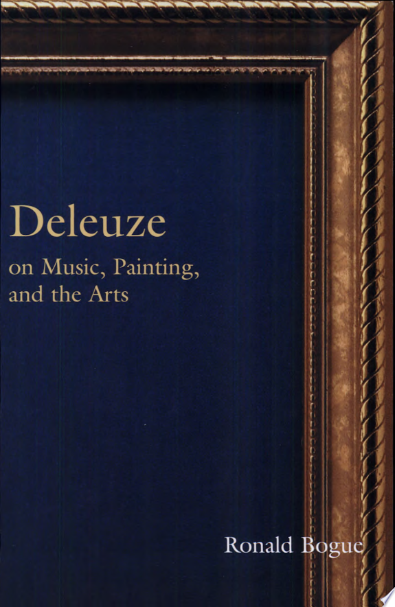 Deleuze on Music, Painting, and the