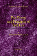 The Theory and Principles of Tort Law