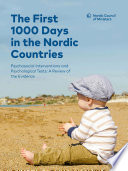 The First 1000 Days in the Nordic Countries  Psychosocial Interventions and Psychological Tests  A Review of the Evidence