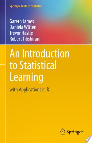 Download An Introduction to Statistical Learning Free Books - E-BOOK ONLINE