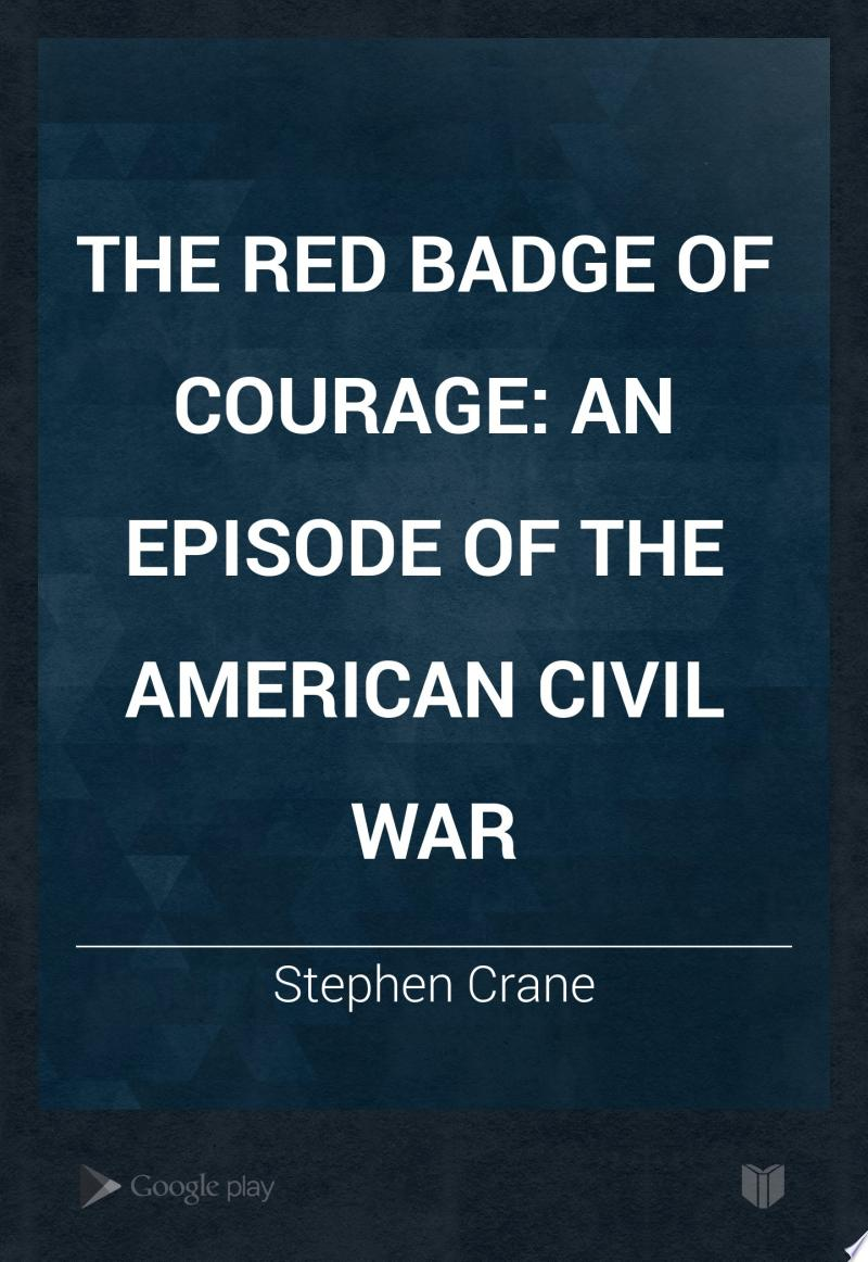 The Red Badge of Courage banner backdrop
