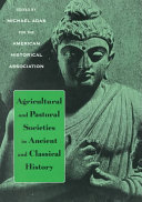 Agricultural and Pastoral Societies in Ancient and Classical History