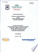 Business Activity Modeling Of The Ceq S Nepa Regulations 40 Cfr 1500 1508  Book PDF