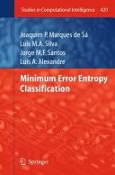 Minimum Error Entropy Classification