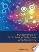 Fundamentals Of Optimization Techniques With Algorithms Book PDF