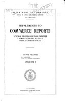 Supplements to Commerce Reports