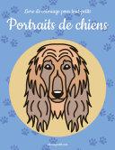 Livre de coloriage pour tout-petits Portraits de chiens 1 [Pdf/ePub] eBook