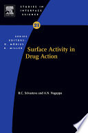 Surface Activity In Drug Action Book PDF