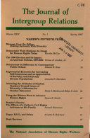 Pdf Journal of Intergroup Relations