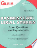 Business Law / Legal Studies