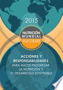 Informe de la nutrición mundial 2015