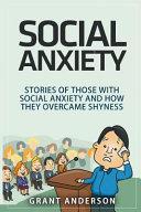 Social Anxiety Book