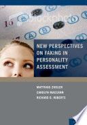 New Perspectives on Faking in Personality Assessment Book
