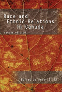 Race and Ethnic Relations in Canada Book