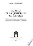 El mito de la justicia en la historia