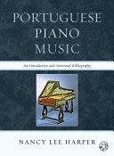 Portuguese Piano Music