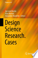 Design Science Research  Cases Book