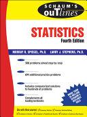 Schaum s Outline of Statistics