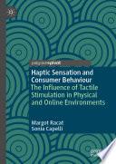 Haptic Sensation and Consumer Behaviour