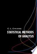 Statistical Methods of Analysis