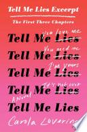 Tell Me Lies Excerpt