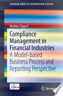 Compliance Management In Financial Industries Book PDF