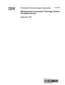 IBM Framework for E business