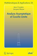 Analyse asymptotique et couche limite [Pdf/ePub] eBook