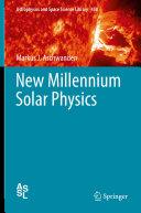 Pdf New Millennium Solar Physics Telecharger