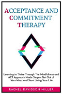 Acceptance and Commitment Therapy Book
