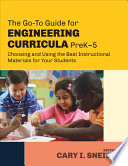 The Go To Guide for Engineering Curricula  PreK 5