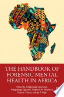 The Handbook Of Forensic Mental Health In Africa