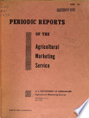 Periodic Reports of the Agricultural Marketing Service