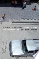 Acoustic Territories