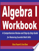Algebra 1 Workbook Book