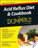"""Acid Reflux Diet & Cookbook For Dummies"" by Patricia Raymond, Michelle Beaver"