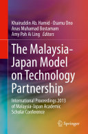 The Malaysia-Japan Model on Technology Partnership