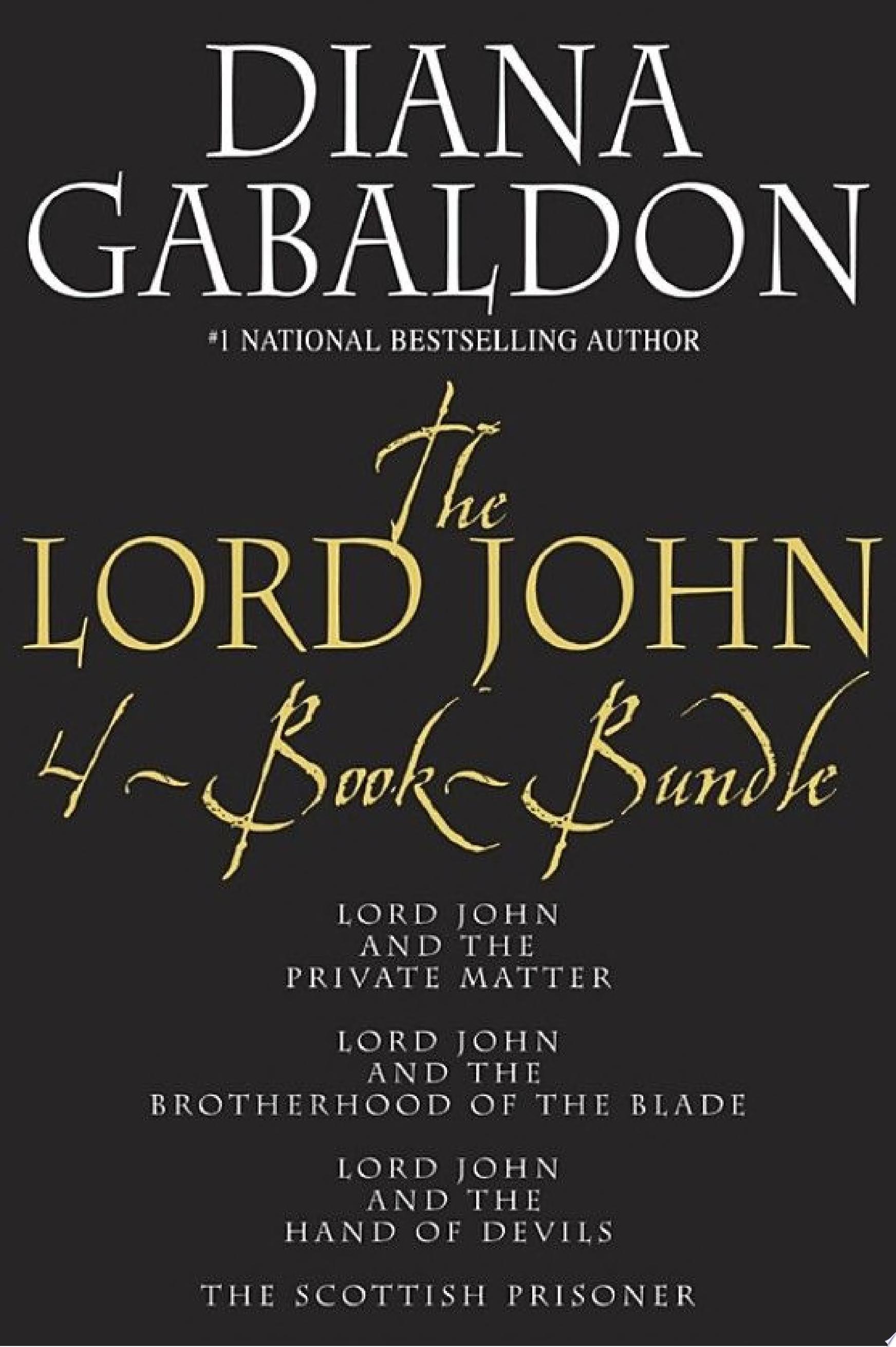 Lord John 4 Book Bundle