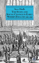 The State and Social Change in Early Modern England, 1550–1640