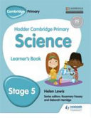 Books - Hodder Cam Primary Science Lb Book 5 | ISBN 9781471884054