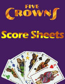 5 Crowns Score Sheets Book