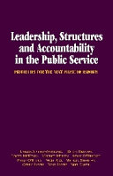 Leadership, Structures and Accountability in the Public Service