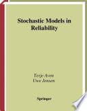 Stochastic Models In Reliability Book PDF