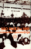 1981 Proceedings: Seventy-Second Annual Convention of Rotary International