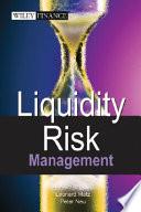 Liquidity Risk Measurement and Management Book