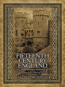 Fifteenth Century England a Comprehensive Chronology Pdf/ePub eBook
