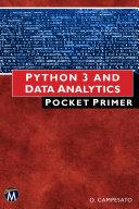 Python 3 and Data Analytics Pocket Primer
