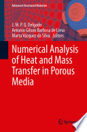 Numerical Analysis of Heat and Mass Transfer in Porous Media