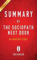 Summary of The Sociopath Next Door